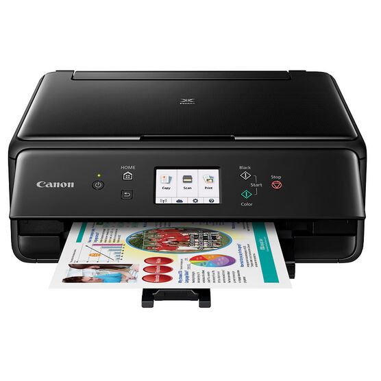 Canon Pixma TS6020 Multifunction Inkjet Printer - Black - 1368C003