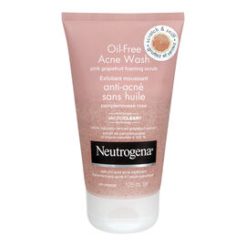 Neutrogena Oil-Free Acne Wash Pink Grapefruit Foaming Scrub - 125ml