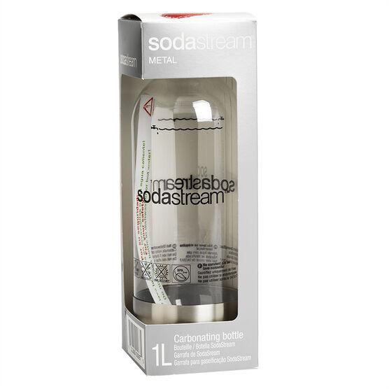 SodaStream Bottle - Stainless Steel - 1L