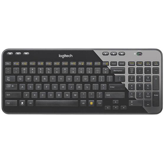 Logitech K360 Wireless Keyboard - Black - 920-004088