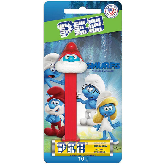 Pez Candy Dispenser - Smurfs - Assorted - 16.4g