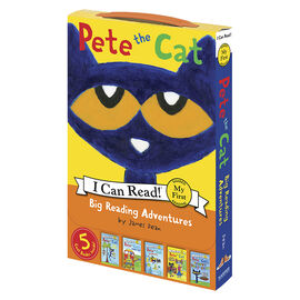 Pete The Cat: I Can Read! Big Reading Adventures by James Dean
