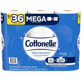 Cottonelle Ultra CleanCare Mega Rolls - 9's