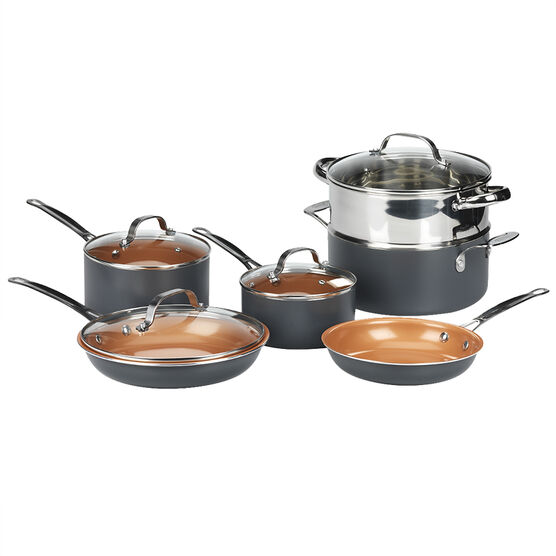 Gotham Steel Cookware Set - 10 piece
