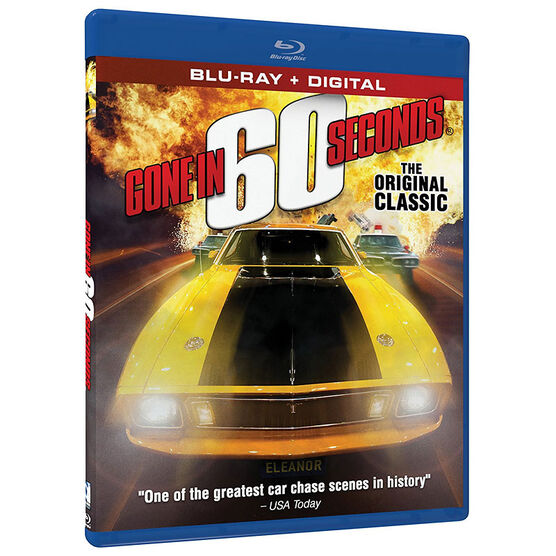 Gone In 60 Seconds (1974) - Blu-ray