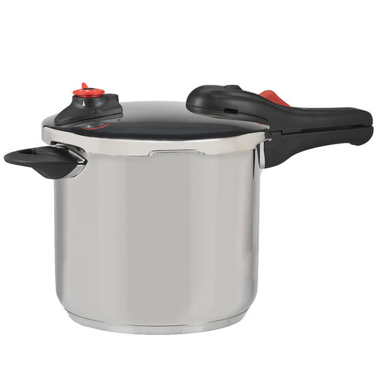 London Drugs Stainless Steel Pressure Cooker - 7.6L