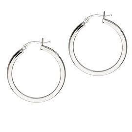 Charisma Stainless Steel Square Hoop Earrings