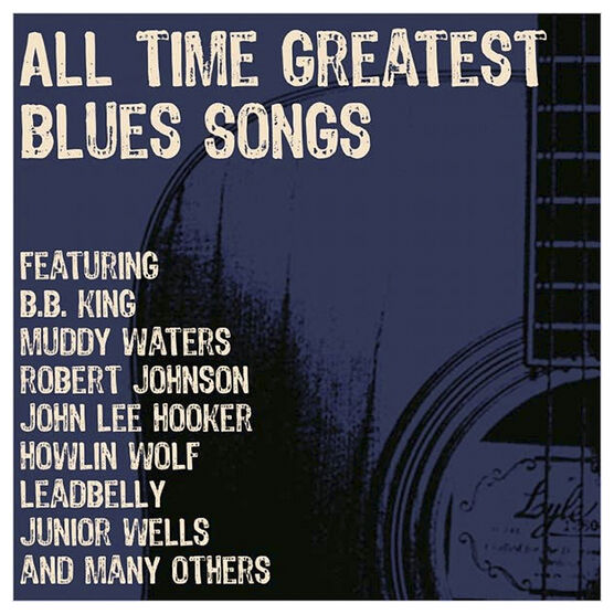 Various Artists - All Time Greatest Blues Songs - 3 CD