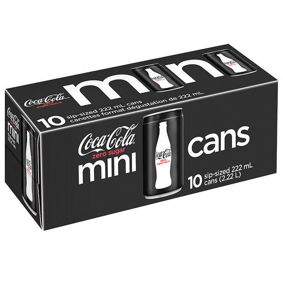 Coke Zero - 10 x 222ml