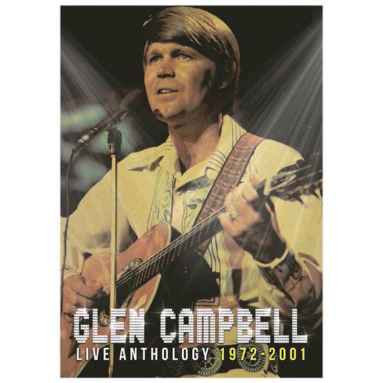 Glen Campbell - Live Anthology 1972-2001 - DVD + CD Combo