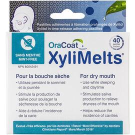 OraCoat XyliMelts Mint-Free Pastilles - 40's