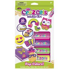 CRA-Z-GELS Pop Colours 3D Sticker Art