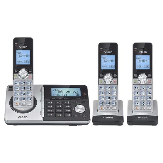 Vtech 3-Handset Cordless Phone - Silver - CS51593