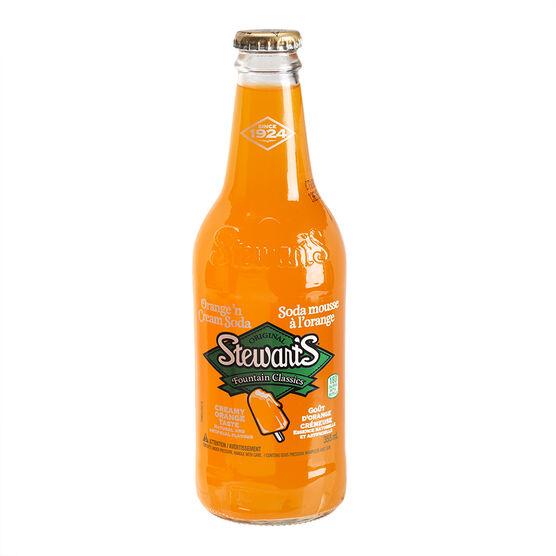 Stewart's Soda - Orange Cream - 355ml