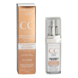 Marcelle CC Cream Complete Correction SPF 35 - Medium to Dark - 30ml