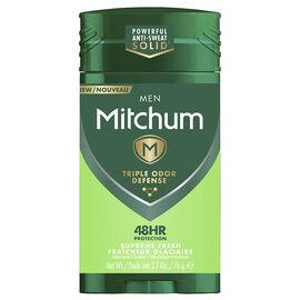 Mitchum Men Triple Odor Defense Antiperspirant - Supreme Fresh - 76g