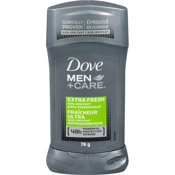 Dove Men +Care Extra Fresh Non Irritant Anti-Perspirant Stick - 76g