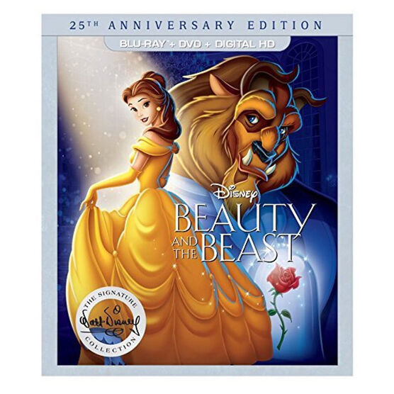 Beauty and the Beast: 25th Anniversary Edition - Blu-ray