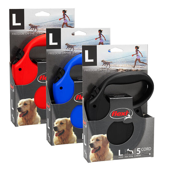 Flexi Retractable Dog Leash - Assorted