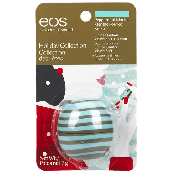 eos Holiday Collection Lip Balm - Peppermint Mocha - 7g