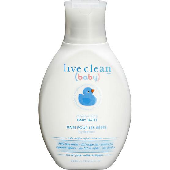 Live Clean Moisturizing Calming Baby Bath - 300ml