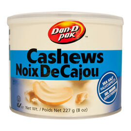 Dan-D-Pak Cashew Halves & Pieces - Sea Salt - 227g