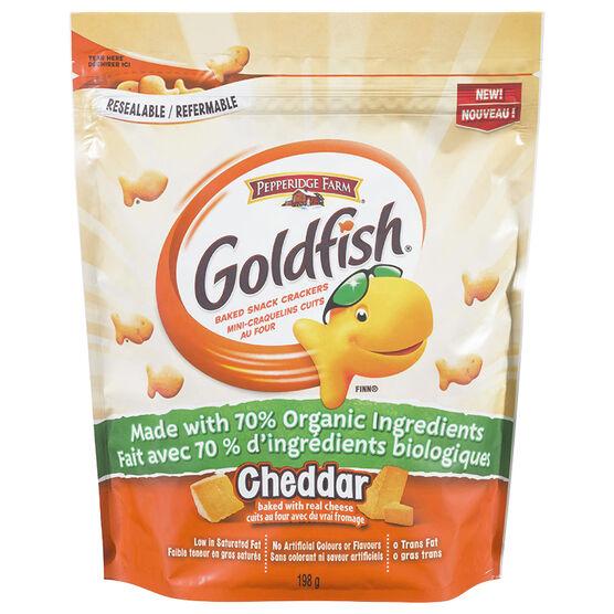 Pepperidge Farm Goldfish Crackers - Cheddar - 198g