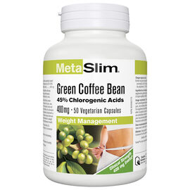 Webber MetaSlim Green Coffee Bean 400mg - 50's
