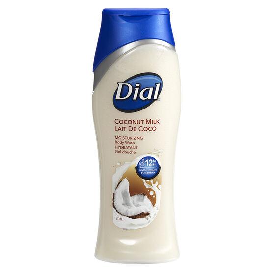 Dial Coconut Milk Moisturizing Body Wash - 473ml