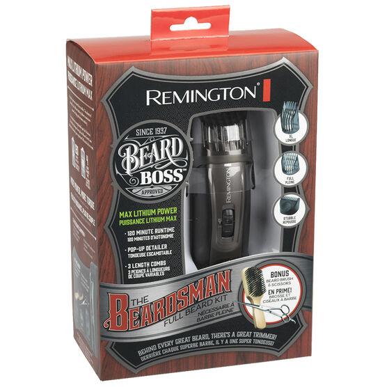Remington The Beardsman: Beard Boss Full Beard Grooming Kit - MB4045ACDN