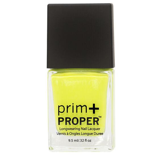 Prim + Proper Nail Lacquer - Lemon Lime Sunshine