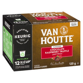 K-Cup Van Houtte Coffee - Chocolate Raspberry Truffle - 12 Servings