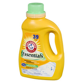 Arm & Hammer Essentials 2X Laundry Detergent - Perfume & Dye-Free - 2.03L
