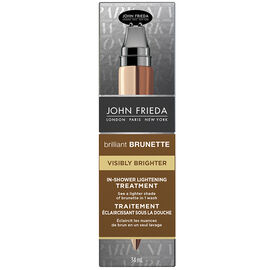 John Frieda Brilliant Brunette Visibly Brighter Lightening Treatment - 34ml