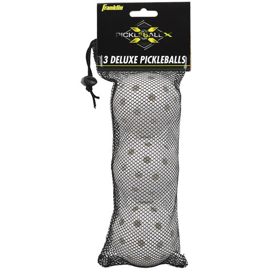 Franklin Deluxe Pickleballs - 3 pack