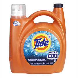 Tide Liquid Laundry Detergent - Ultra Oxi - 4.08L