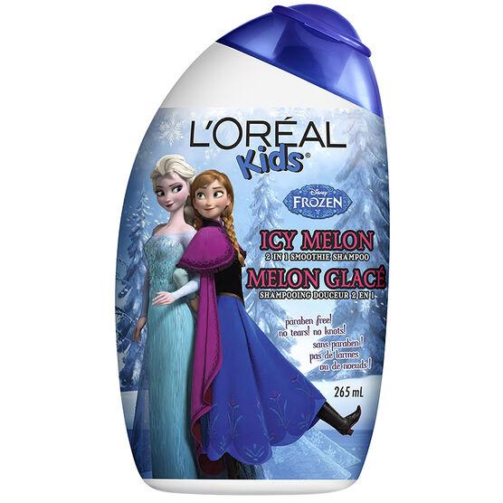 L'Oreal Kids Disney Frozen 2in1 Shampoo - Icy Melon - 265ml
