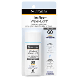 Neutrogena Ultra Sheer Water-Light Daily Face Sunscreen - SPF 60 - 40ml