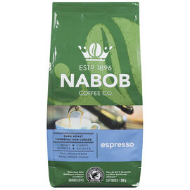 Nabob Coffee - Espresso Dark Roast - Ground - 300g