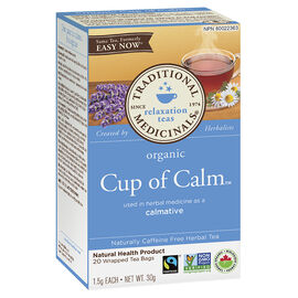 Traditional Medicinals Herbal Tea - Cup of Calm - 20's
