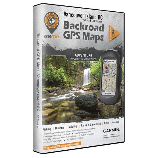 Backroad GPS Maps - Vancouver Island - 02119