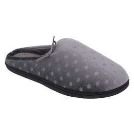 Isotoner Polka Dot Hoodie Slipper - 93002