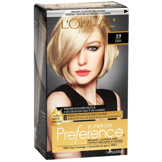 Loreal Preference Hair Color Extra Light Ash Blonde Best