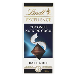 Lindt Excellence Bar - Dark Chocolate with Coconut - 100g