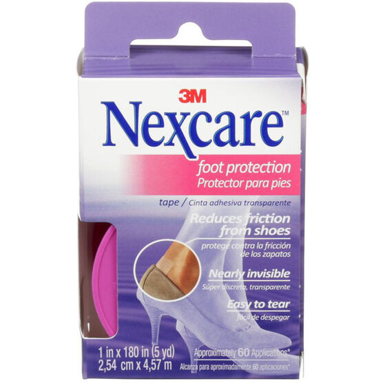 3M Nexcare Foot Protection Tape - 2.54cm x 4.57m
