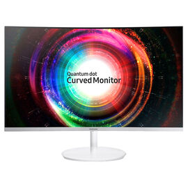 Samsung Quantum Dot Curved Monitor - 27 Inch - LC27H711QENXZA