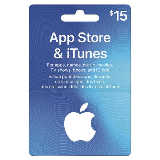 iTunes Card - $15