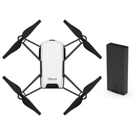 Ryze Tech Tello Drone with Battery Bundle - White - PKG #45650