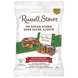 Russell Stover No Sugar Added Chocolate - Pecan Delights - 85g