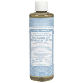 Dr. Bronner's 18-IN-1 Pure-Castile Liquid Soap - Baby Unscented - 473ml